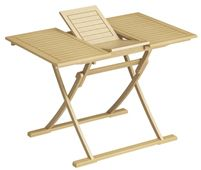EXTENDABLE FOLDING TABLE 80/100X70CM