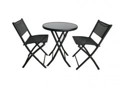 FOLDING SET 2 CHAIRS 1 TABLE TEXT.