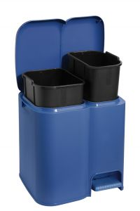 TONTARELLI PEDAL BIN WITH SEPARATIONS PATTY
