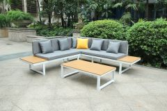 Colombo Lounge Sofa Set White