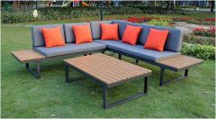 Colombo Lounge Sofa Set Anthracite