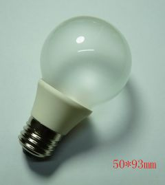 E27 G50 LED BULB WARM WHITE