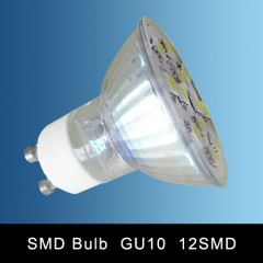 GU10 12SMD LED SPOT LAMP WARM WHITE