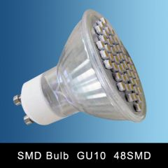 GU10 48SMD LED SPOT LAMP WARM WHITE