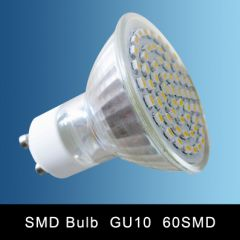 GU10 60SMD LED SPOT LAMP DIMMABLE