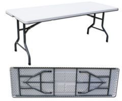 8FT Folding Table