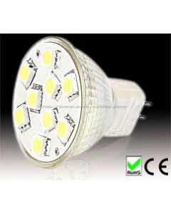 MR11 9SMD LED SPOT LAMP WARM WHITE