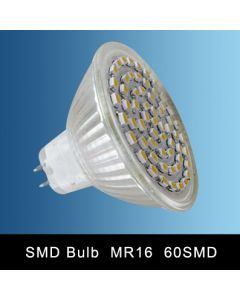 MR16 60SMD LED SPOT LAMP WARM WHITE