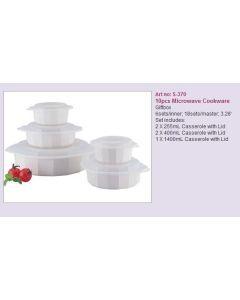 Microwave cookware 10pcs S-370