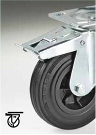 SCP/2 150 Castor Wheels with Brake