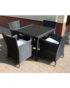 PUERTO RICO 4 PERSON DINING SET S-DT008