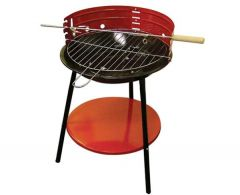 free standing charcoal barbeque